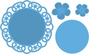 Marianne Design Flower Doily Die Set