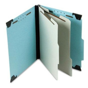 "Pendaflex - Pressboard Hanging Classi-Folder 2 Divider/6-Sections Letter Lt. Blue ""Product Category"