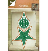 Joy Craft Die, Christmas Ornament and Star