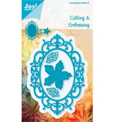 Joy Craft Die, Oval, Flower with Leaves