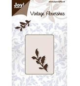 Joy Craft Die, Vintage Holly Flourish