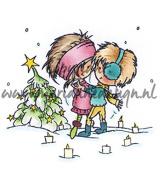 Marianne Design Don & Daisy A Christmas Romance Stamp
