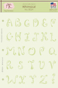 Fairytale Creations Whimsical Alphabet Stencil, 22cm L x 28cm H