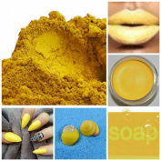 THEY CALL ME MELLOW YELLOW Lot of 3 Matte Powder Soap and Cosmetic Making Pigment 5g Samples Pale Mustard Tawny Fair Light Golden Iron Oxides