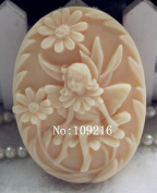 Creativemoldstore 1pcs 8.6x6.3x2.4cm Beautiful Fairy (zx723) Craft Art Silicone Soap Mould Craft Moulds DIY Handmade Soap Mould