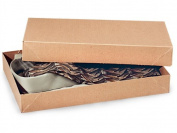 Men Shirt Boxes Women Tops Boxes Gift Boxes Wrap Boxes Apparel Gift Boxes with Lids 5 Pack Brown Kraft