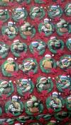 Ninja Turtles Wrapping Paper TMNT Christmas Gift Wrap