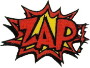 Zap! Embroidered Patch 7CM X 5CM