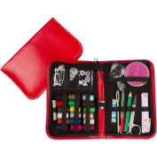 AMAZING SALE!!! Professional Sewing Supplies Kit by Back2Basics - Complete Set w/ Scissors, Threader, Thimble & More for All Of Your Sewing & Emergency Needs