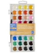 Watercolours Paints Set Artist's Loft Fundamentals Pan Set 36 Colour