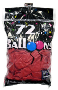Tablemate Products 127219 72 Count Cherry Red Balloon