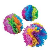 Cool Fun 13700851 Paper Fiesta Flower Tissue Centrepieces