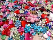 50g assorted acrylic rhinestone confetti
