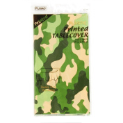 Flomo TC787 140cm x 270cm . Printed Camouflage Design Table Cover, Case of 36