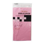 Flomo TC303 140cm x 270cm . Pastel Pink Rectangular Table Cover Case of 36