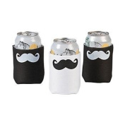 Cool Fun 13631945 Moustache Can Covers