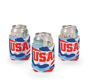 Cool Fun 13647855 Patriotic Camouflage Can Covers