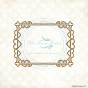 Blue Fern Studio Chipboard Sweetheart Frame