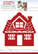 Yvonne Creations Find It Trading Yvonne Creations Cosy Christmas Die Gingerbread House