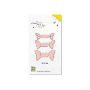 Nellie's Choice Double Fold DIe - Butterfly DFD008