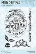 Blue Fern Studio Clear Stamp Merry Christmas