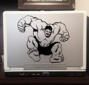 Incredible Hulk Super Hero Marvel Disney Characters Car Truck Laptop Macbook Decal Sticker 10cm Black