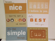 The Paper Loft Flip Flops *Inspiring* Cardstock Title Blocks