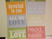 The Paper Loft Flip Flops *Love* Cardstock Title Blocks