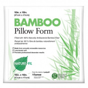 Nature-Fil BAM16 41cm x 41cm . Bamboo Pillow, Midsized