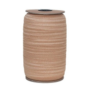 100 Yards of Natural 1.6cm Fold Over Elastic on a Spool