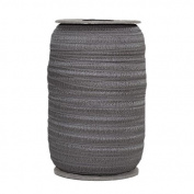 100 Yards of Medium Grey 1.6cm Fold Over Elastic