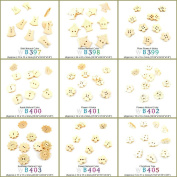 930 pcs Sewing Buttons Sewing Sew On Wood Wooden Colourful Buttons Supplies Supply Fasteners Wholesale WB399 Plum Blossom