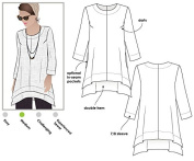 Style Arc Sewing Pattern - Daisy Designer Tunic (Sizes 18-30) - Click for Other Sizes Available