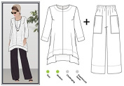 Style Arc Sewing Pattern - Daisy Designer Pant and Tunic Outfit (Sizes 18-30) - Click for Other Sizes Available