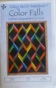 Pattern~Colour Falls~6.4cm Strips Design by Cosy Quilt Design~Jelly Roll,
