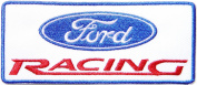 FORD RACING Logo Sign Car Patch Sew Iron on Applique Embroidered T shirt Jacket Costume BY SURAPAN