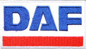 DAF Logo Sign Truck Patch Sew Iron on Applique Embroidered T shirt Jacket Costume Gift BY SURAPAN