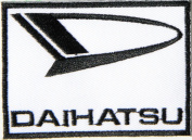 DAIHATSU Logo Sign Classic Car Patch Sew Iron on Applique Embroidered T shirt Jacket Costume Gift BY SURAPAN
