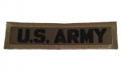 U.S. Army Logo Embroidered Iron On Patch Army Olive Green Colour
