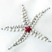 Korea T-shirt Clothing Repair Rhinestone Motif Stickers Mini Starfish 3sheets