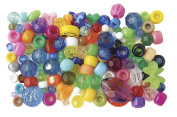 The Beadery 0.5kg Bag of Mixed Craft Beads