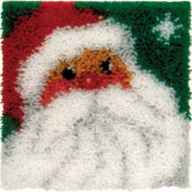 Latch Hook Kit - Jolly Santa
