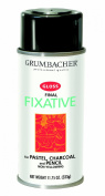 Grumbacher 543 330ml Final Fixative, Gloss Spray Can