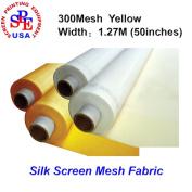 6 Yards 300 Mesh 130cm (1.27m) Width Silk Screen Printing (6 yards 300 mesh