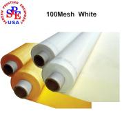 6 Yards 100 Mesh 130cm (1.27m) Width Silk Screen Printing (6 yards 100 mesh