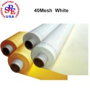 6 Yards 40 Mesh 130cm (1.27m) Width Silk Screen Printing (6 yards 40 mesh