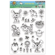 Penny Black Clear Stamp Set, Fresh New Day