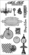 Hampton Art 7g Molto Bello Cling Rubber Stamp
