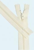 18cm Zipper YKK #3 Skirt & Dress Closed Bottom ~ 099 Off White