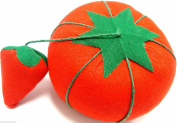 Tomato Style Pin Cushion with Attached Pin Sharpener Pin Holder Cushion x 1 New